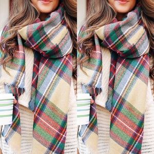 Accessories - 🍂COLORFUL PLAID SCARF